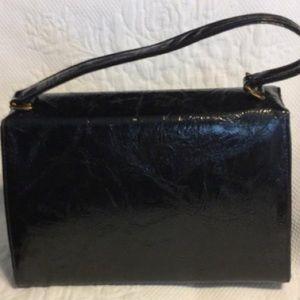 Risque Bags - Risqué Black Faux Leather Satchel